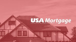 USA Mortgage Cover Red